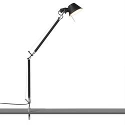 Tischlampe schwarze Schreibtischstütze - Artemide Tolomeo Tavolo