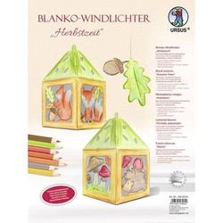 Blanko-Windlichter Herbstzeit VE=2 Stück