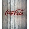 Wenko Coca-Cola Wood Glasrückwand
