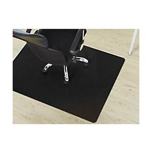 Bodenschutzmatte Floordirekt Pro Hartböden Schwarz Polypropylen 900 x 1200 mm