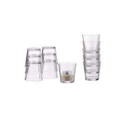 relaxdays Teelichthalter Teelichtgläser 12er Set