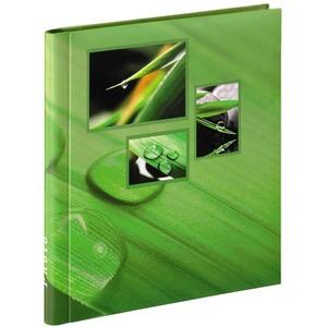 Hama Selbstklebe-Album Singo, 28x31 cm, 20 weiße Seiten, Grün