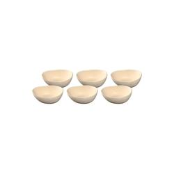 LEONARDO Schale NOLI Keramikschüssel 15 cm beige 6-tlg., Keramik, (6-tlg)