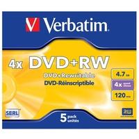 Verbatim DVD+RW 4.7GB 5er