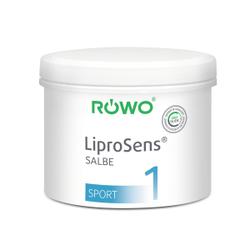 RÖWO® LiproSens Salbe 1, kühlend, Kühlsalbe vermindert die Reibung bei der Massage, 500 ml - Dose