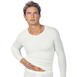 Medima Herren Unterhemd langarm 40% Angora weiß Gr. M