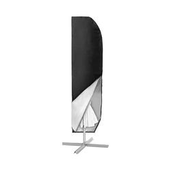 kueatily Sonnenschirm-Schutzhülle Cantilever Sonnenschirm Cover Oxford Wasserdichte Regenschirmhülle Wetterfest UV Anti, winddicht und schneesicher im Freien für Cantilever Sonnenschirm