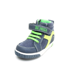 Be Mega Boys Sneaker blue-green