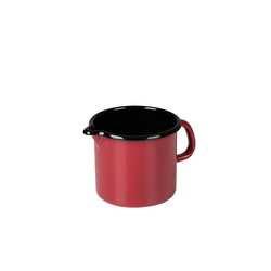 Riess Milchtopf Schnabeltopf Color Schnabeltopf Color, Premium-Email, (1-tlg), Schnabeltopf rot