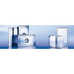 Blanco GN-DECKEL GDD 1/4 EDELSTAHL, mit Silikondichtung