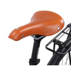Gusti Leder Fahrradsattel Louison B., Fahrradsattel Ledersattel Sattel Vintage-Sattel Retro-Sattel Fahrrad Braun Leder braun