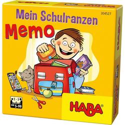 Haba Spiel, Mein Schulranzen-Memo