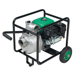 Benzin Motorpumpe 3 mit Radsatz