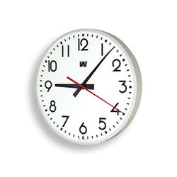 Wanduhr, rund mit Zahlen, 40 cm, Quarzuhr