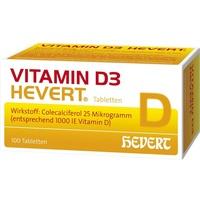 Hevert Vitamin D3 1000 I.E. Tabletten 100 St.