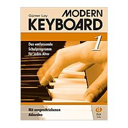 Modern Keyboard  Schulprogramm. Günter Loy  - Buch