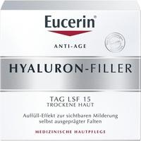 Eucerin Hyaluron-Filler Tagespflege Creme für trockene Haut LSF 15 50 ml