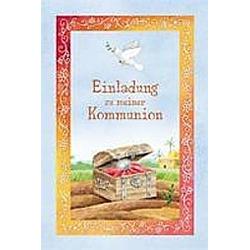 Einladung zu meiner Kommunion  Einladungskarten