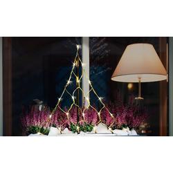 CHRISTmaxx Lichterkette LED-Lichterbaum, 58cm, 4,5V