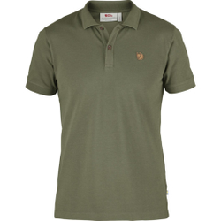 Fjällräven - Övik Polo Shirt M Green - Poloshirts - Größe: XL