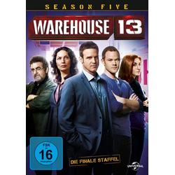 Warehouse 13 - Season 5  [2 DVDs]