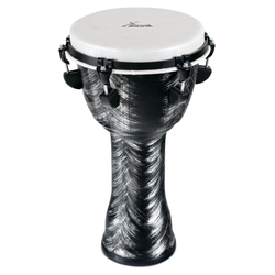 "XDrum Djembe 10"" Silver Brush"