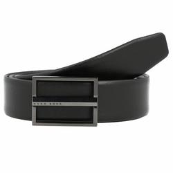 Boss Ores Skórzany pasek odwracalny black 95 cm