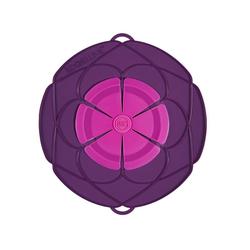 Kochblume Überkochschutz Überkochschutz lila-pink 29 cm