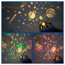 Gotui LED Nachtlicht, LED Sternenhimmel Projektor,LED Nachtlicht Dekolicht Sternenlicht, Kinderzimmer, Geschenk