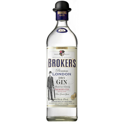 Broker's London Dry Gin 47%