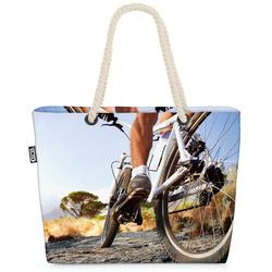 VOID Strandtasche (1-tlg), Rad Mountainbike Beach Bag Fahrrad fahren Mountain Bike Rad Tour Sport radeln
