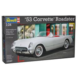 Revell® Modellauto, Maßstab 1:24, Revell '53 Corvette Roadster 1:24 Modellbausatz Bausatz Modell Auto Modellbau