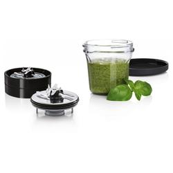 BOSCH Multifunktions-Küchenmaschine 3-in-1 Multi-Zerkleinerer MUZ45XCG1 Küchenmaschine schwarz
