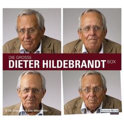 Die große Dieter Hildebrandt-Box als Hörbuch CD von Dieter Hildebrandt