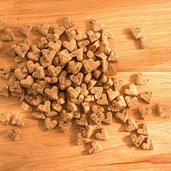 alsa-nature Mini-Dinkel-Herzen, 3 x 250 g, Hundefutter