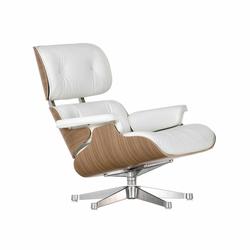 Lounge Chair mit Kunststoffgleitern