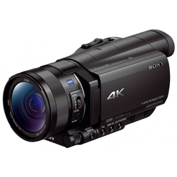 Sony FDR-AX100E 4K-Camcorder schwarz