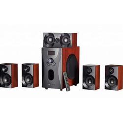 Auvisio Home-Theater Surround-Sound-System 5.1, holzoptik