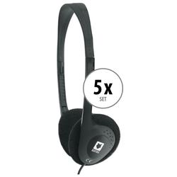 Beatfoxx Silent Guide Economy Kopfhörer 5x Set