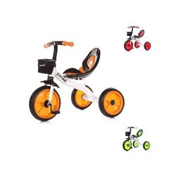 Chipolino Dreirad Dreirad Strike, ab 3 Jahre max. Traglast 25 kg komfortabler Sitz orange