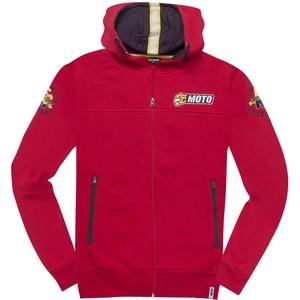 FC-Moto Effortless Zip Hoodie, rot, Größe XL