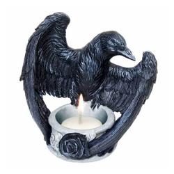 Alchemy Gothic Teelichthalter Teelichthalter Akchemy Raven, für Teelichter