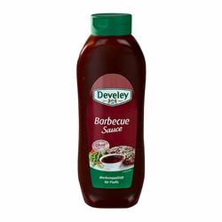 Develey Rauchig-milde Barbecue Sauce für Profis (875ml Flasche)