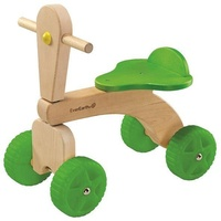 EverEarth® Rutscher Vierrad, aus Holz, FSC®-Holz aus gewissenhaft bewirtschafteten Wäldern