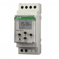 Programmierbare NFC Wochenzeitschaltuhr Digital Zeitschaltuhr ON-OFF PCZ-521.3 F&F 3249