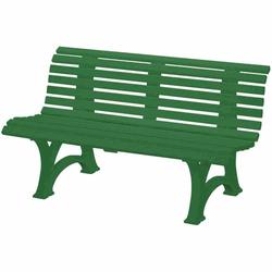 BLOME Gartenbank Helgoland, 150 cm Kunststoff dunkelgrün