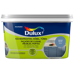 Dulux Holzlack Fresh Up, für Küchen, Möbel und Türen, denim blue, 2 l