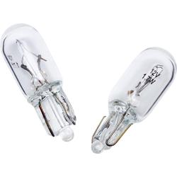 Ring Glühbirnenpaar 12V, 1,7W Glassockel W2.6x6d