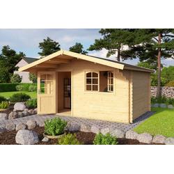 Nordic Holz Gartenhaus Valga 44, BxT: 400x430 cm, (Set)