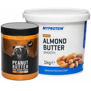 nu3 Erdnussbutter + MyProtein Mandelbutter 1 St Set